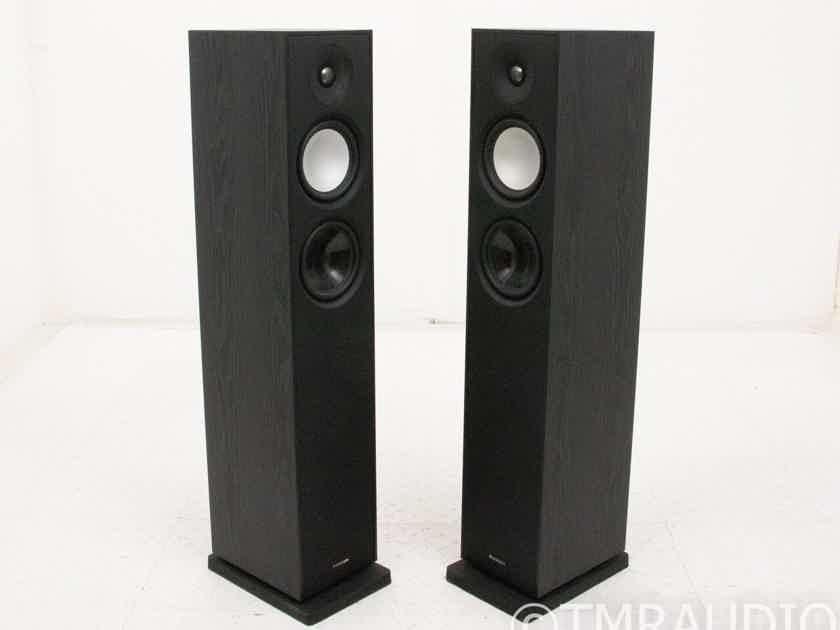 Paradigm Monitor 7 v7 Floorstanding Speakers; Black Ash Pair; S.7 (19006)