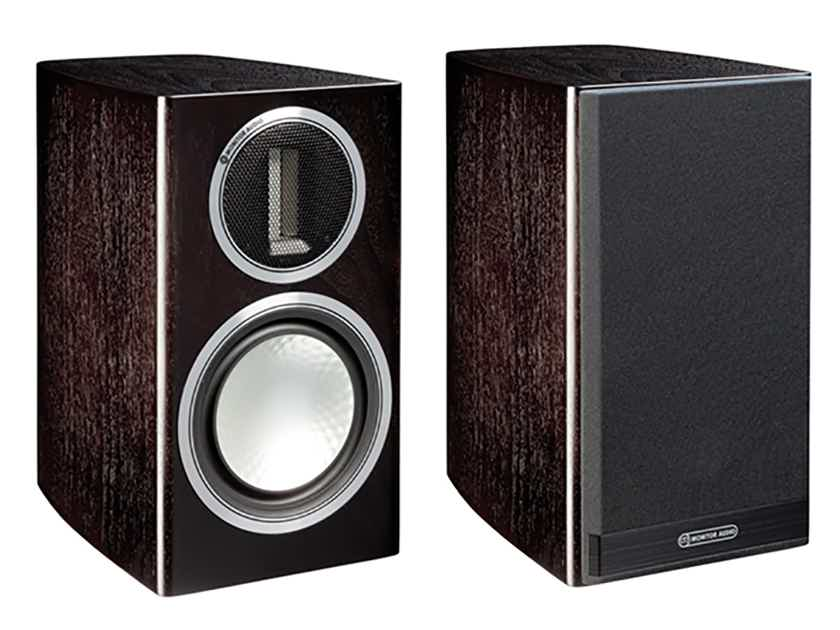 Monitor Audio GOLD 50 Bookshelf Speakers (4G - Discontinued): NEW-in-Box; 5 Yr. Warranty*; 35% Off