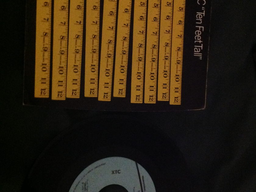 XTC - Ten Feet Tall Promo 45 With Sleeve NM