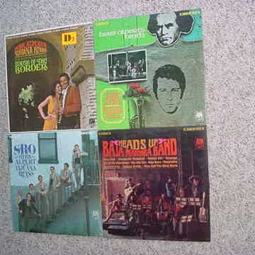 Herb Alpert and the tijuana brass & Baja Marimba band 4 lp records