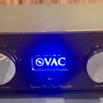 VAC Signature MkIIa SE Preamp with Phono!