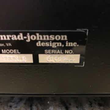 Conrad Johnson Premier 12