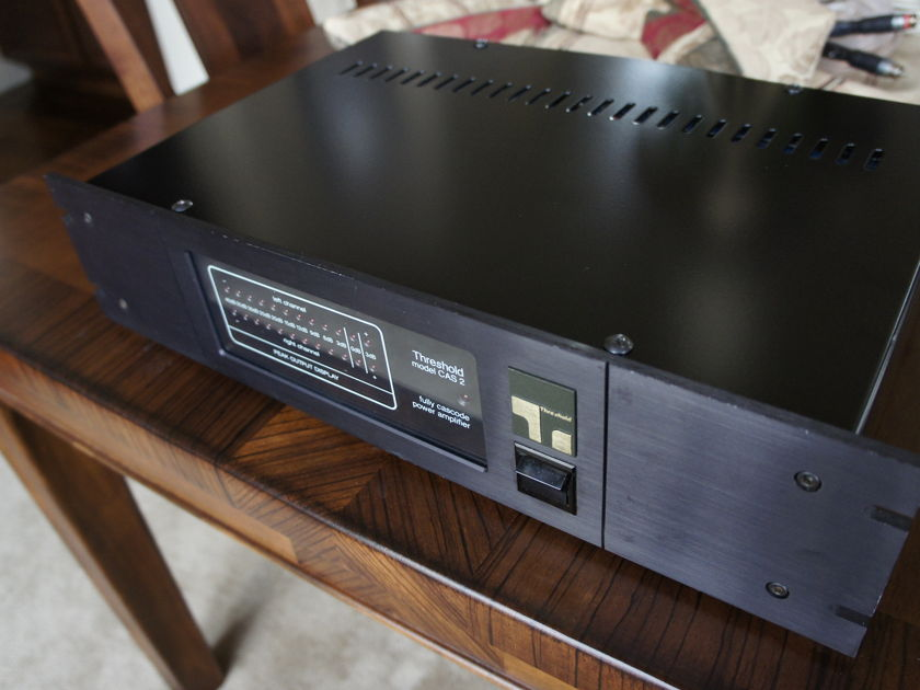 Threshold CAS-2 Power Amplifier