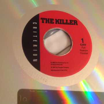 John Woo's The Killer Criterion Collection CAV 3 Disc Set