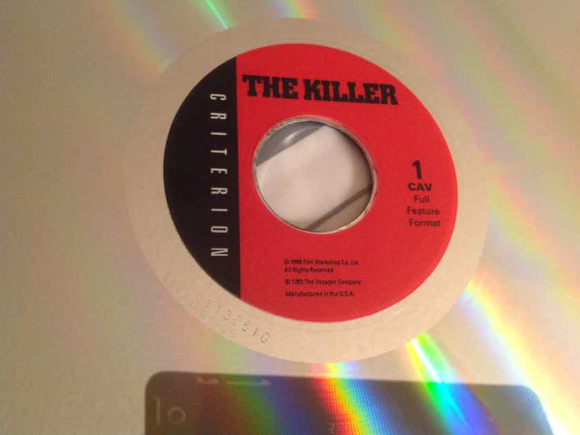 John Woo's The Killer Criterion Collection CAV 3 Disc Set