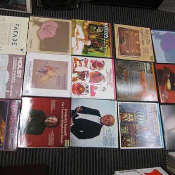 15 Audiophile LPs,Holst,Wagner,Berlioz,Bach,Stravinsky,...