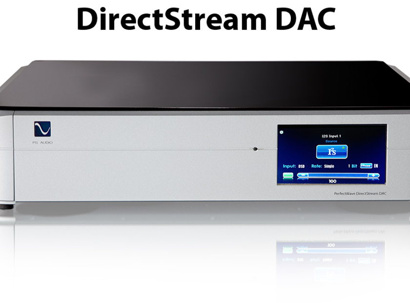 PS Audio Direct Stream Digital DAC New-10x DSD- Product of the Year- Free Roon & Torey's