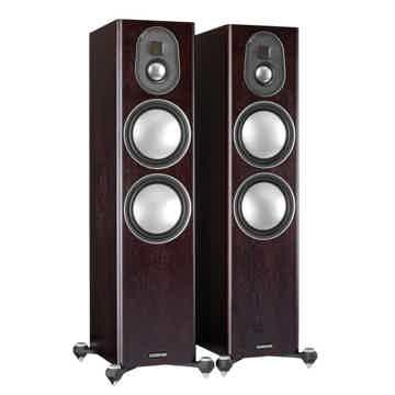 Monitor Audio Gold 300 Speakers (5G - Dark Walnut): Exc...