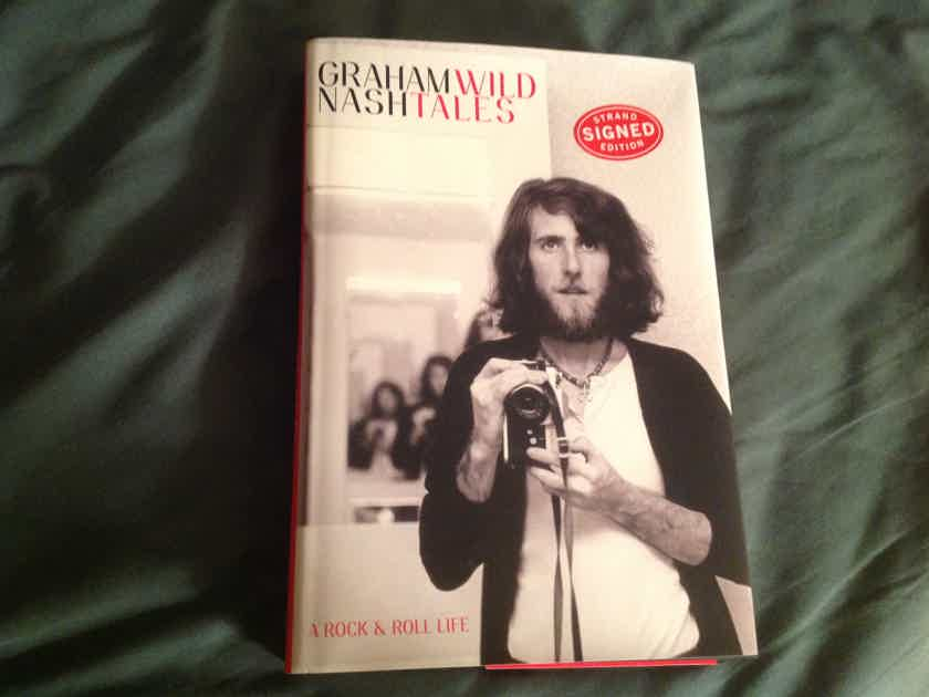 Graham Nash Wild Tales Signed First Edition Hardcover Book