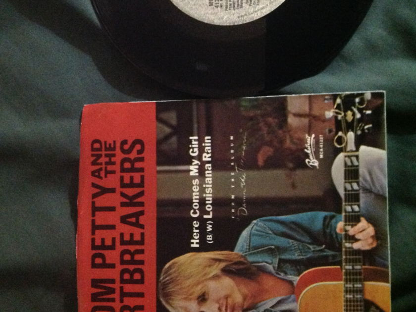 Tom Petty And The Heartbreakers - Here Comes My Girl 45 With Sleeve