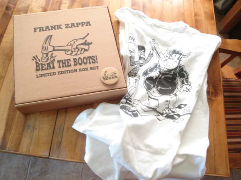 Zappa and Mothers - Beat the Boots!! Rare near mint box set. Free shipping!!