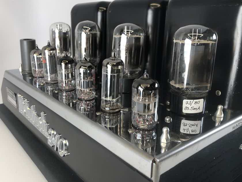 McIntosh MC240 Vintage Tube Amplifier - Restored and Sounding Amazing