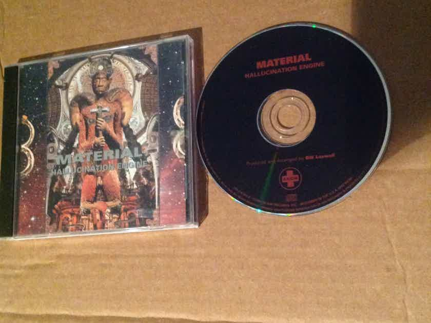 Material - Hallucination Engine Axiom Records Compact Disc With Bill Lasswell