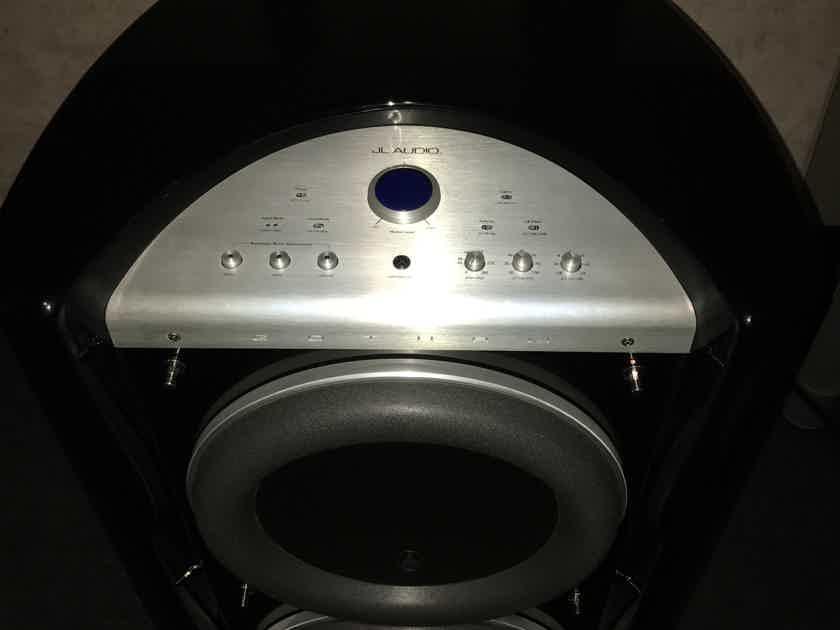 JL Audio Gotham 213 in piano black