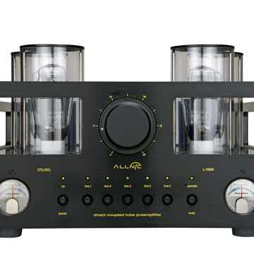 Allnic L-10000 face view black finish