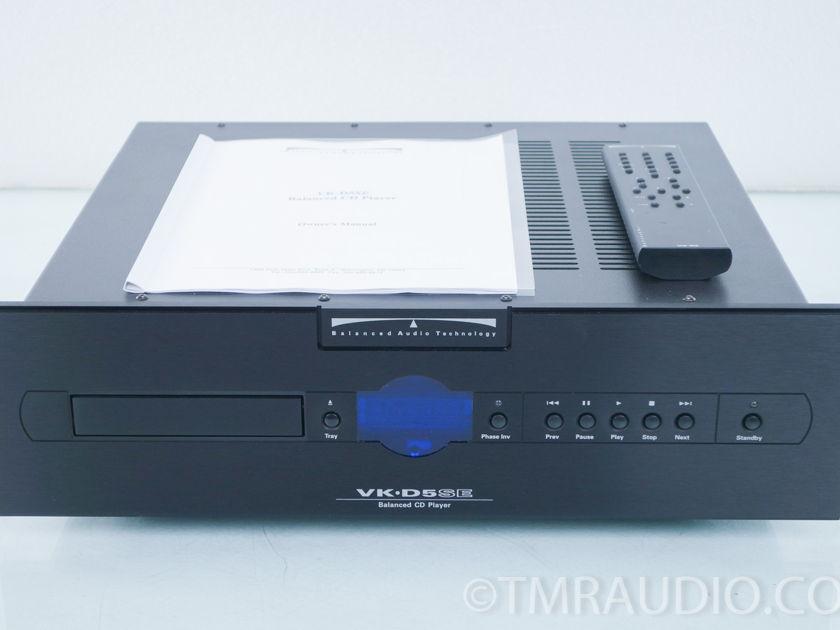 BAT VK-D5SE CD Player Superpak; New Tubes (8327)