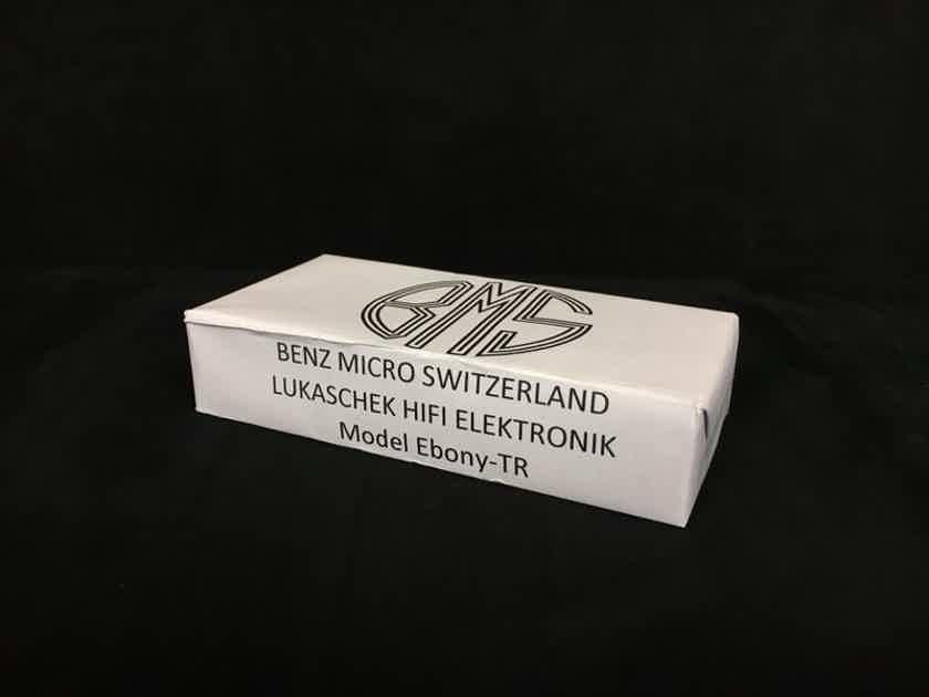 Benz Micro Ebony TR Super Low Ouput MC Cartridge Like new!!