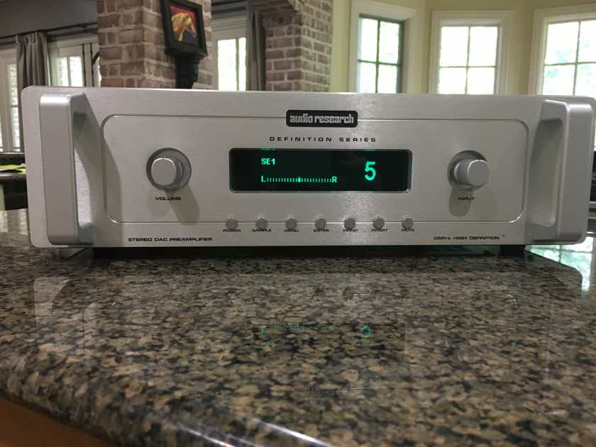 Audio Research Stereo Preamplifier Dac Dspre Solid State