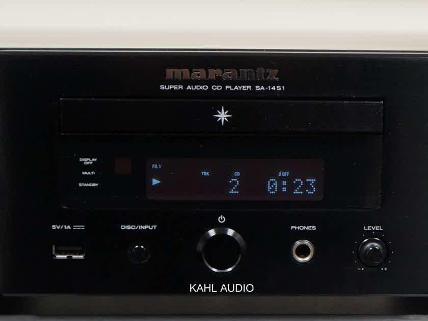 Marantz SA-14S1 SACD player & DAC. Current model. $2,500 MSRP