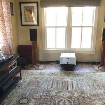 Extraordinary Analog Home Stereo System and Extensive L...