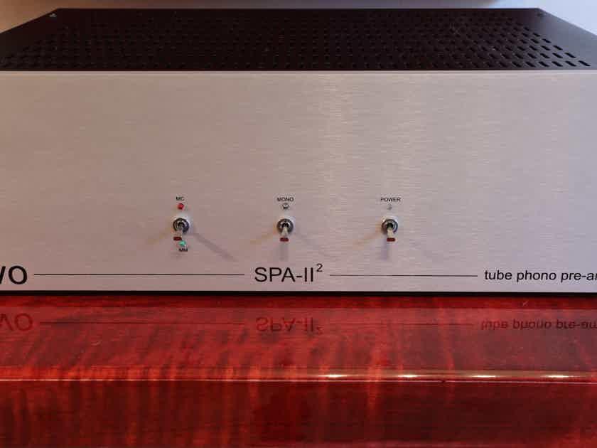 New Valve Order SPA II Mark 2, NVO SPA II Phono Preamp, Tube