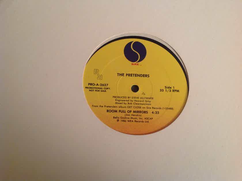 The Pretenders  Room Full Of Mirrors Sire Records Promo 12 Inch Single Jimi Hendrix
