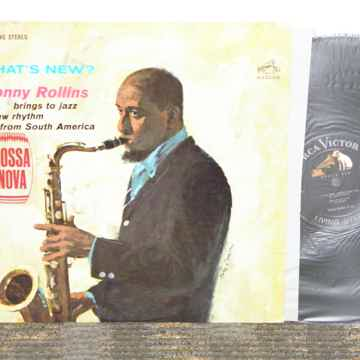 """Sonny Rollins - """"What's New?"""" RCA Shaded Dog LSP 2572 B..."""