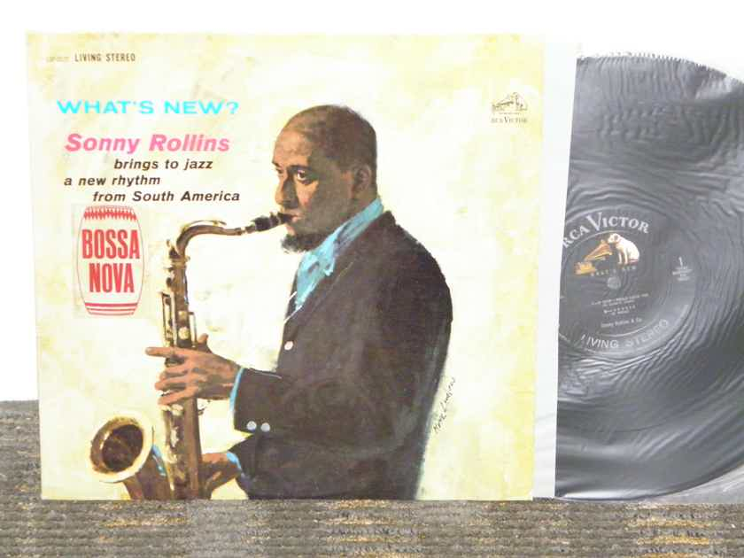 "Sonny Rollins - ""What's New?"" RCA Shaded Dog LSP 2572 Black/Silver Orig."
