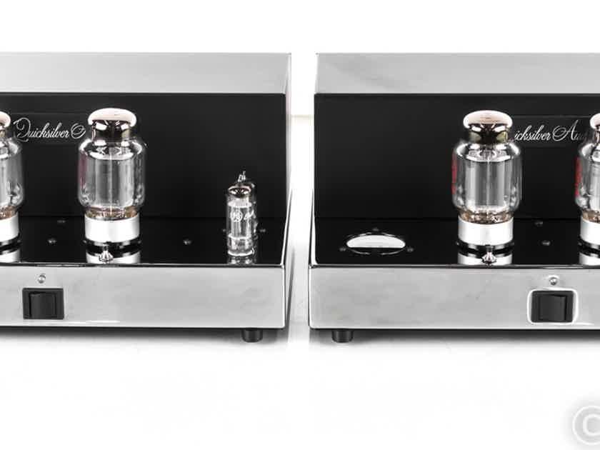 Quicksilver Audio Silver 88 Mono Tube Power Amplifier; Pair (22871)