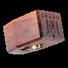 Sapphire cantilever, cocobolo wood