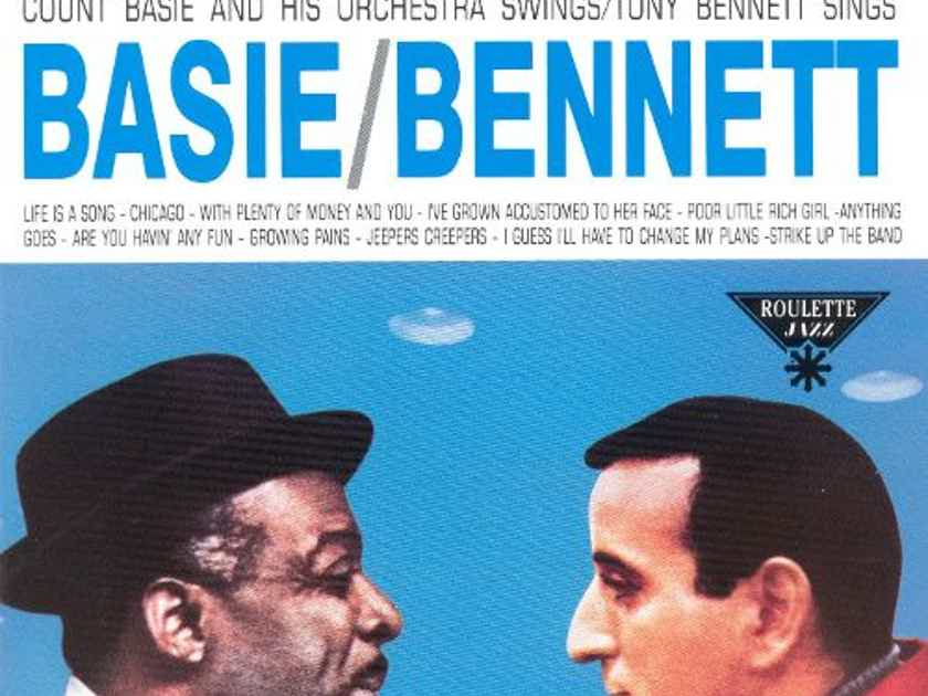 Basie/Bennett -  Count Basie and His Orchestra Swing Tony Bennett Sings