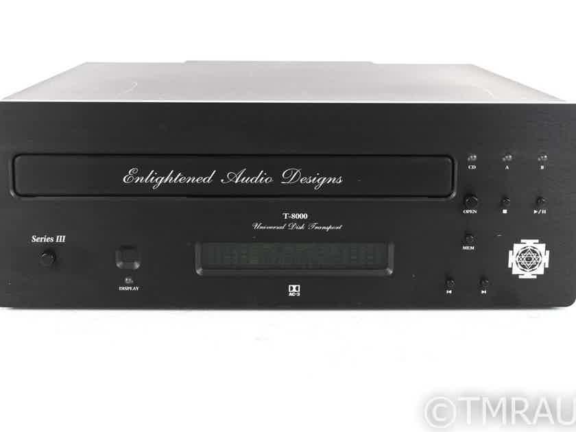 Enlightened Audio Designs T-8000 Series III Universal Disc Transport; T8000 (19656)