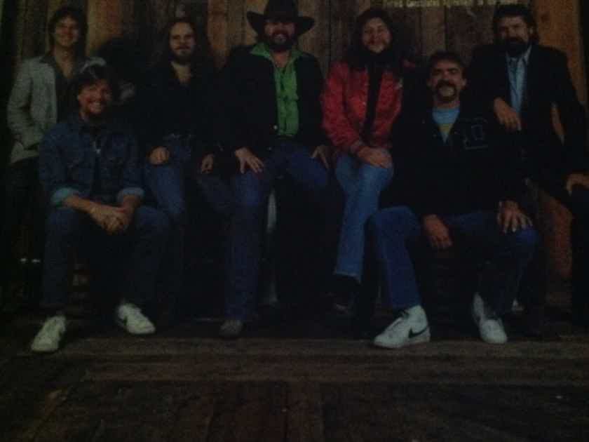 Marshall Tucker Band - Just Us Warner Brothers Records Vinyl  LP NM