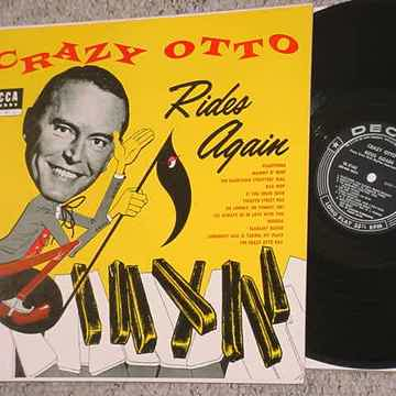 Crazy Otto rides again lp record decca DL 8163