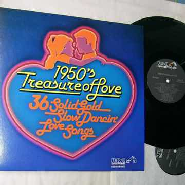 1950's TREASURE OF LOVE -  36 SLOW DANCING LOVE SONGS -