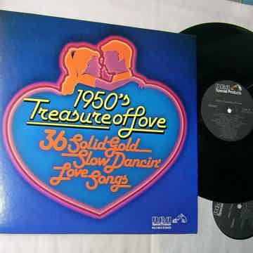 1950's TREASURE OF LOVE -  - 36 SLOW DANCING LOVE SONGS...