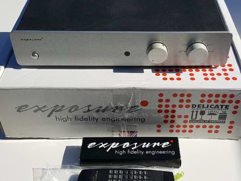Exposure Electronics 3010S2 preamplifier with MM/MC phono stage!