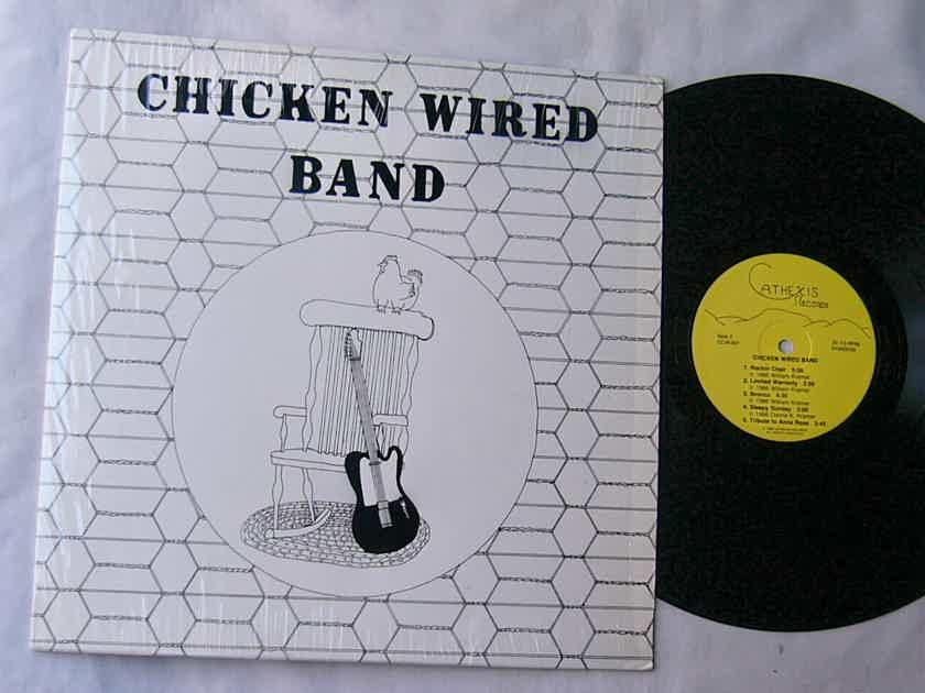 CHICKEN WIRED BAND - - SELF TITLED 1986 LP - CATHEXIS PRIVATE LABEL -SHRINK