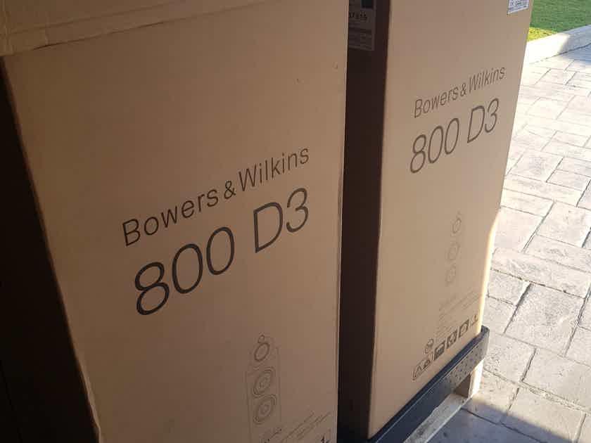 B&W (Bowers & Wilkins) 800D3 in Black Gloss NEW