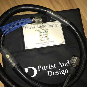 Purist Audio Design Diamond Edition Dominus AC Power Ca...