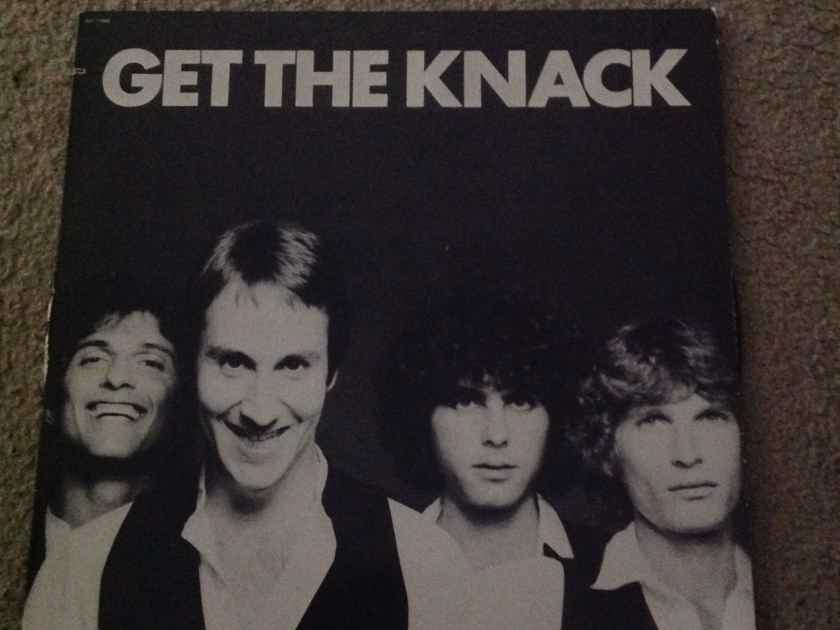 The Knack - Get The Knack Capitol Records Rainbow Label Vinyl LP NM
