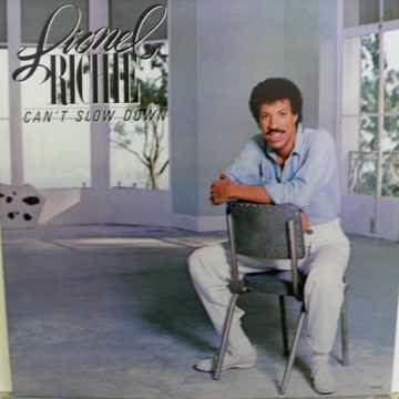 LIONEL RITCHIE - CAN'T SLOW DOWN NM