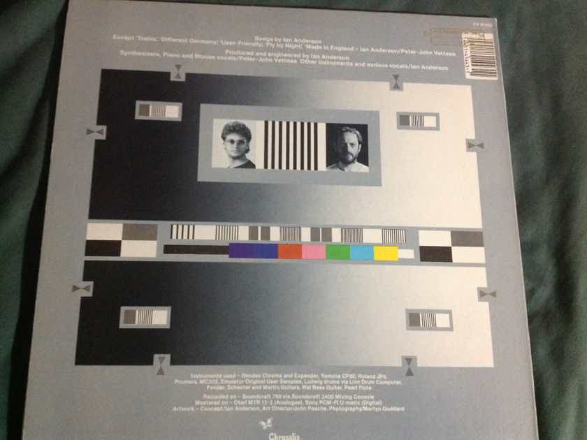 Ian Anderson  Walk Into Light Promo LP With Hyper Sticker