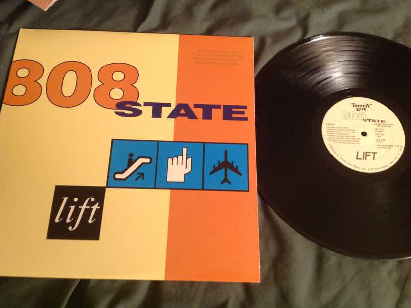 808 State Lift 12 Inch EP Tommy Boy Records