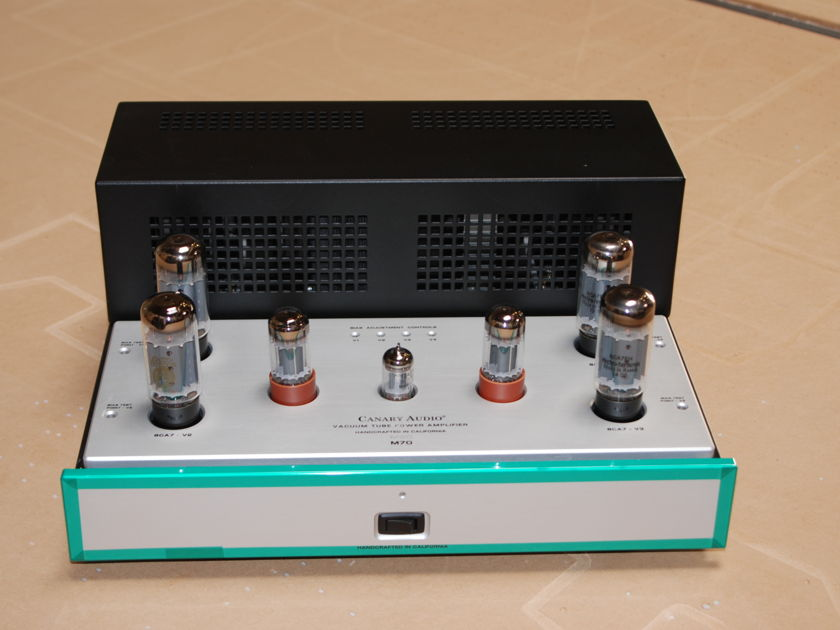 Canary Audio M70 6CA7 Stereo Amplifier
