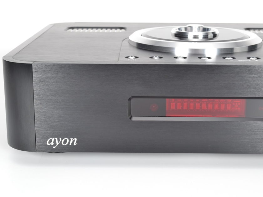 Ayon Audio CD-5 Vacuum Tube Compact Disc CD Player DAC / Preamplifier
