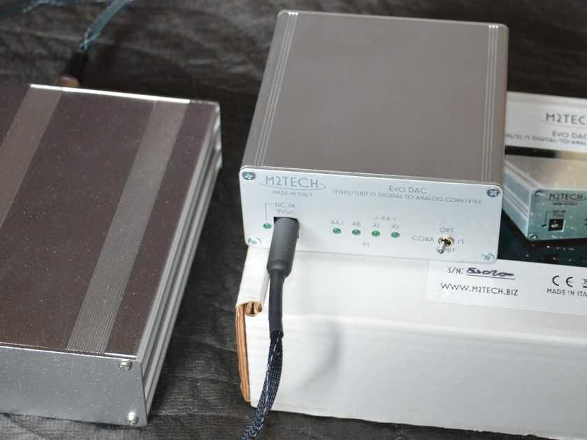 M2Tech Evo DAC with Welborne Labs power supply