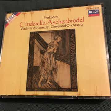 Prokofiev Vladimir Ashkenazy Cleveland Orchestra  Cinderella Aschenbrodel 2 Cd set Decca 1983