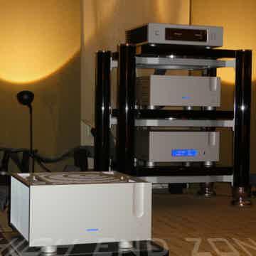 Tandem Audio Statement D2 3 Shelf Audiophile Rack in Pi...