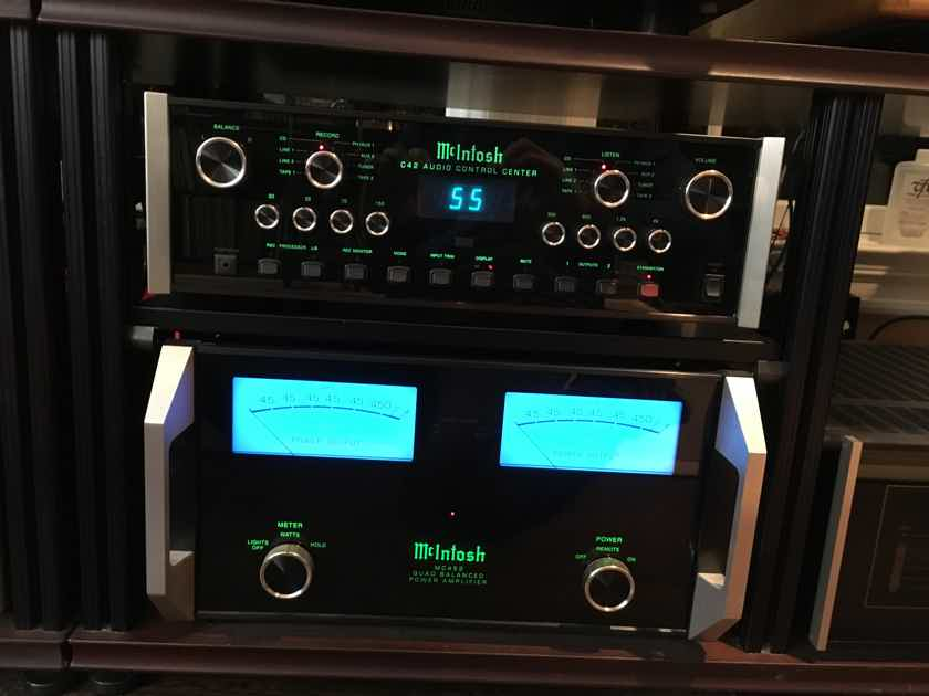 McIntosh C-42 Preamp, All Analogue, with EQ, MINT
